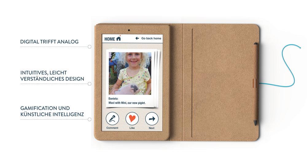 KAMA | die großmutterfreundliche App | Facebook & Twitter Kampagne