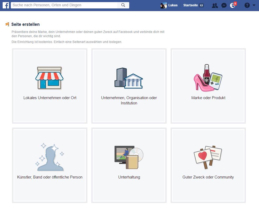 ANLEITUNG: Facebook Seite erstellen | Schritt für Schritt | Version 2017