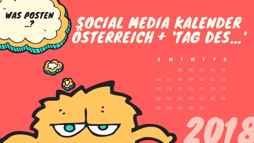 Social Media Aktionstage Oesterreich