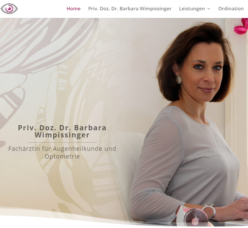 Neue Website Dr. Barbara Wimpissinger